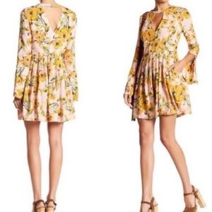 "Free People ""Tegan"" Floral Dress"